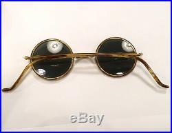 Ray-Ban B&L Cheyenne II Usa Bausch Lomb Ronde Vintage Lunettes De Soleil Miel