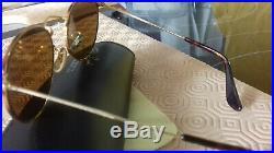 Ray Ban B&L Round Tortuga gold, vintage, rares verres BL B15, excellent état