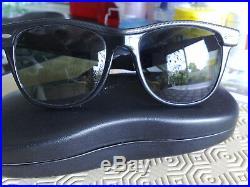 Ray Ban B&L Wayfarer II street neat grey'n black G15 BL lenses excell condition