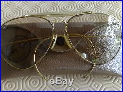 Ray-Ban B&L aviator ODM vintage 6214 arista gold, verres photochromic BL