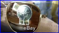 Ray Ban Bausch&Lomb Prism W1910XQAW, vintage, rare B15 diamond hard lenses