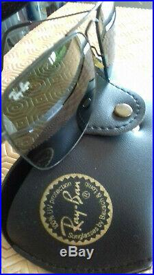 Ray Ban Bausch&Lomb sunglasses black Caravan L0280 VNAS 5816 G15 BL lenses