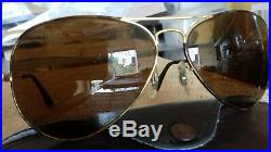 Ray Ban Bausch&Lomb vintage USA Aviator classic Tortuga 5814 B15 BL lenses