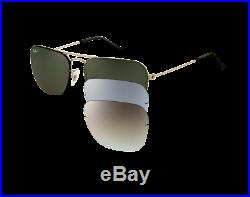 Ray-Ban Caravan Flip out RB3461 004/6G silver