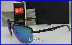 Ray Ban Chromance RB4275-CH 601/A1 Homme Miroir Bleu Polarisé Soleil Neuf