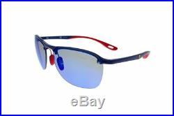 Ray-Ban Ferrari Collection Bleu Miroir Polarisé RB4302M F606H0 62