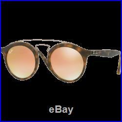 Ray-Ban Gatsby I Large Ecaille Mat/Doré Cuivre Dégradé Miroité RB4256 6267/B9 49