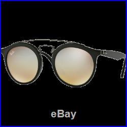 Ray-Ban Gatsby I Large Noir Mat Argent Dégradé Miroité RB4256 6253/B8 49