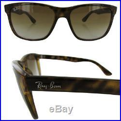 Ray Ban Hommes Rb4181 Carré Lunettes de Soleil Mode, Écailles de Tortue