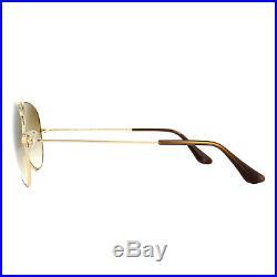 Ray-Ban Lunettes de Soleil Aviateur 3025 001/51 or Brun Dégradé Petit 55mm