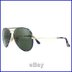 Ray-Ban Lunettes de Soleil Aviateur Tout en Couleur 3025jm 172 Multi-Colore