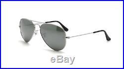 Ray Ban Lunettes de Soleil Classique Aviateur RB 3025 W3275 Argent WithArgent