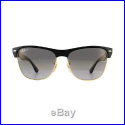 Ray-Ban Lunettes de Soleil Clubmaster Surdimensionné 4175 877/M3 Noir Gris