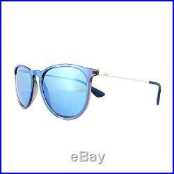 Ray-Ban Lunettes de Soleil Erika 4171 631855 Bleu Argent Miroir Bleu