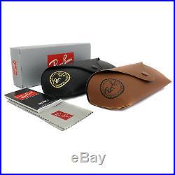 Ray-Ban Lunettes de Soleil Justin 4165 622/6g Caoutchouc Noir Gris Miroir Petit