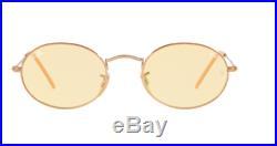 Ray Ban Lunettes de Soleil RB3547N 91310Z 54 Ovale Jaune Clair Photochromique
