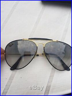 Ray Ban Outdoorsman Black Precious Metals Bausch And Lomb W0555