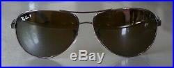 Ray Ban RB 8313 Polarisée, branches carbones, forme aviateur