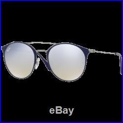 Ray-Ban RB3546 Medium Bleu/Gunmetal Gris Flash Dégradé RB3546 9010/9U 52