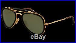 Ray Ban ROAD SPIRIT Polarisante RB3428 Doré 001-M4 hallyday