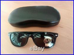 Ray-Ban Rb2132 New Wayfarer Classic 901 Black Green G15 Unisex Sunglasses 55mm