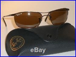 Ray-Ban Rb3132 012/47 56 18 Marron Polarisé Lisse Flexible