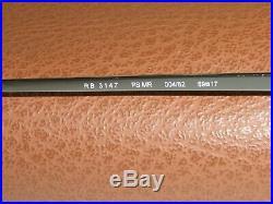 Ray-Ban Rb3147 Lisse Gris Métallique Haut Miroir Dégradé Verre Polarisé