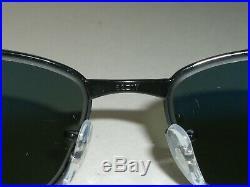 Ray-Ban Rb3364 62 17 Lisse Noir Polarisé Rectangulaire Lunettes de Soleil avec /
