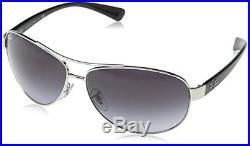 Ray Ban Rb3386 Lunettes de soleil Uni Mixte Argent (Silber) Taille