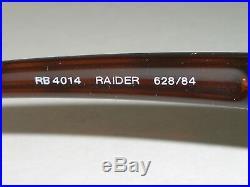 Ray-Ban Rb4014 Raider 628/84 Marron Dégradé Mirrord Polarisé