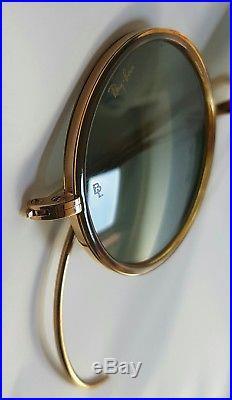 Ray Ban USA Cheyenne Outdoorsman W1750 Bausch Lomb John Lennon G15 1990