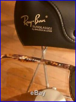 Ray Ban Vintage Bausch & Lomb Style Gatsby excellent état