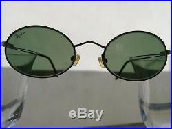 Ray Ban Vintage W2977 Sidestreet Ovale Argenté En Parfait État -b & L- Unisexe