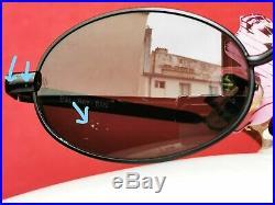 Ray Ban Vintage W2979 Sidestreet Diner Ovale Noire En Bon État Unisexe