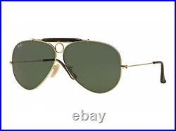 Ray-Ban lunettes de soleil RB3138 SHOOTER 181 Or pour homme