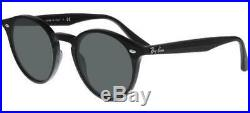 Ray ban 2180 49 601/71 Black Noir Verres Sunglasses Soleil Lunettes Rond