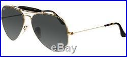 Ray ban 3029 62 de plein Air II 181/71 or Sunglasses Gradué Objectif Havana