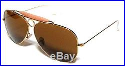 Ray ban 3138 62 Shooter or or B15 Verres Brun Brun Personalisé Remix