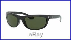 Ray ban 4089 62 Balorama 601/31 Black Lunettes de Soleil Vert G15