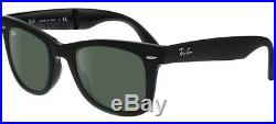 Ray ban 4105 54 Wayfarer Pliant 601S Mat Black Pliant Noir Satiné Soleil