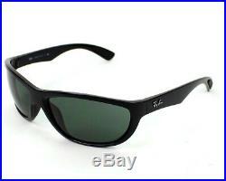 Ray-ban Hommes Lunettes de Soleil RB4188 601/71 63 Cadre Noir/Vert Verres