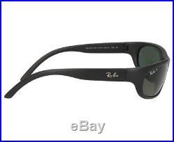 Ray-ban Hommes Soleil RB4033 601S48 60 Cadre Noir/Vert Polarisé Verres