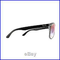 Ray-ban Lunettes de Soleil 4147 6039X0 Transparent Noir Dégradé Bleu Miroir 60mm