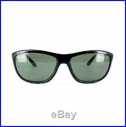 Ray-ban Lunettes de Soleil 8351 62199A Noir Brillant Vert Polarisé