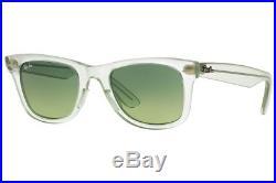 Ray ban Lunettes de Soleil Glace Pop Wayfarer RB 2140 60583M Pastèque W / Vert