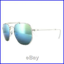 Ray-ban Lunettes de Soleil Marshal 3648 003/I2 Argent Dégradé Bleu Miroir 54mm