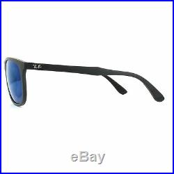 Ray-ban Lunettes de Soleil RB4291 601S55 Noir Miroir Bleu