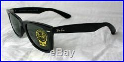 Ray-ban Original Wayfarer RB 2140 901 Gr. 54 Neuf Noir