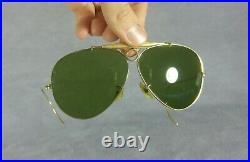 °Sunglasses Ray-Ban B&L Shooter Arista frame RB-3 lenses 70's