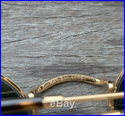Superbe Lunette Round Metal Ray Ban